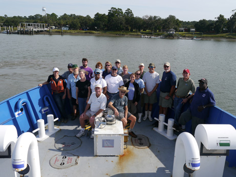 The team from the October Black Gill cruise.