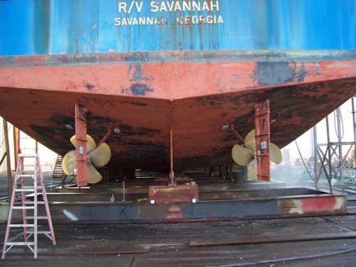 RV Savannah Haulout 2 w