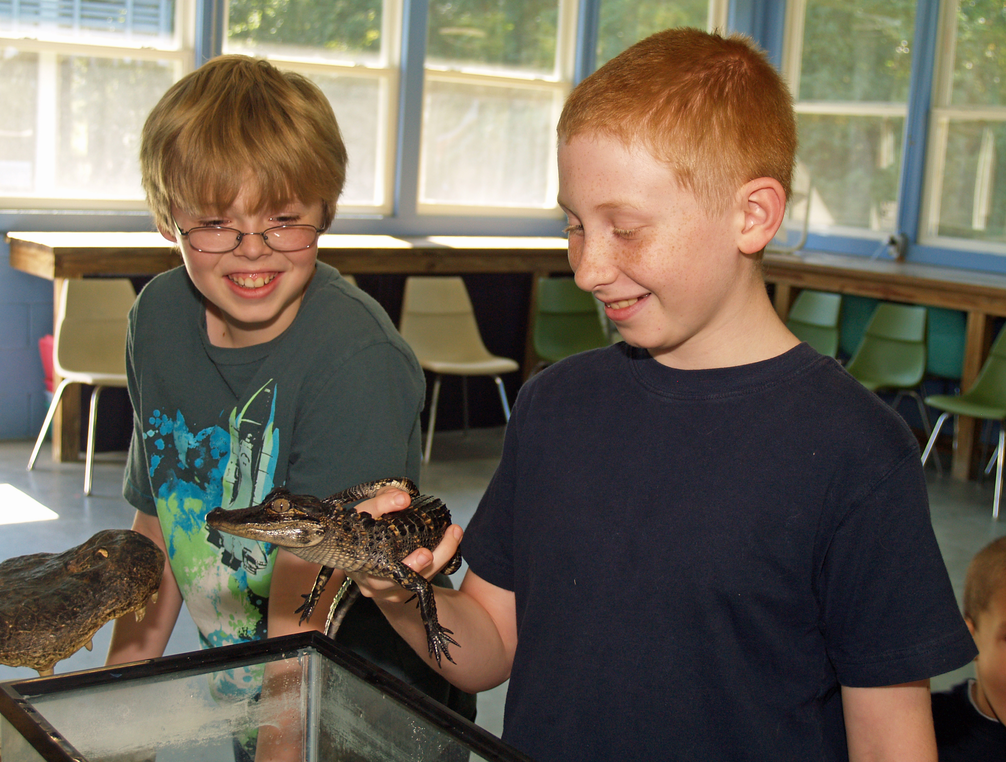 The Reptile Experience fascinates nature lovers of all ages.