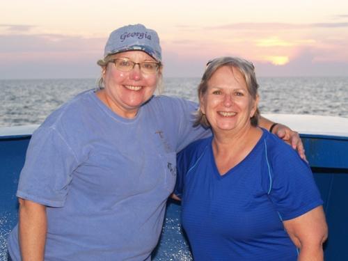 Vicki Albritton (left) and JoCasta Green
