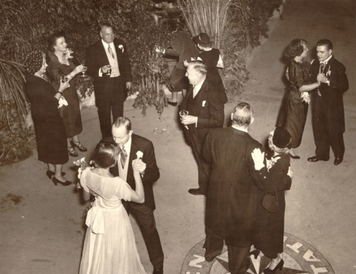 Elin Roebling's 1950 wedding